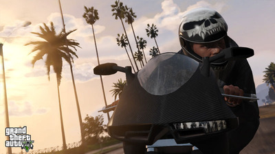 GTA 5 motorcycle
