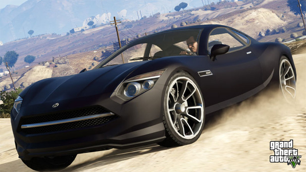Grand Theft Auto V Screenshot - GTA 5 car