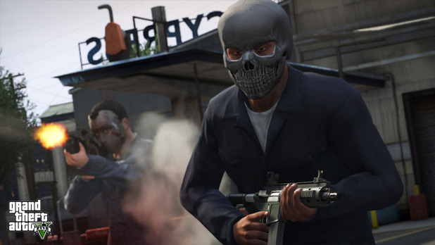 Grand Theft Auto V Screenshot - GTA 5 heist