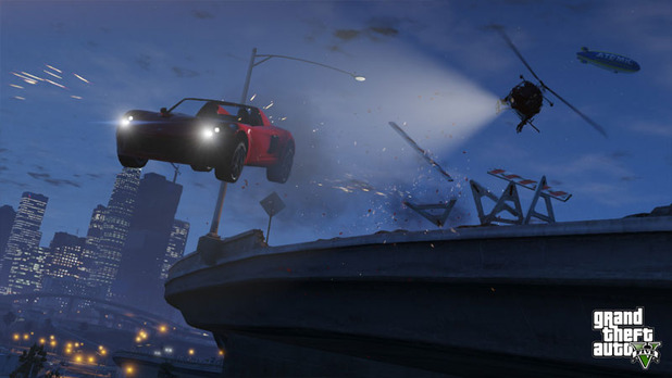Grand Theft Auto V Screenshot - GTA 5 gameplay