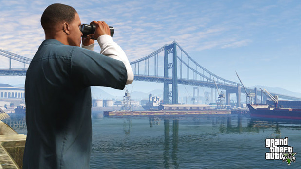 Grand Theft Auto V Screenshot - GTA 5 - Franklin