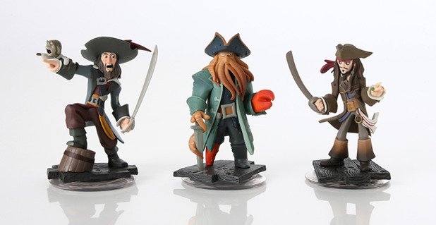 Disney Infinity Pirates of the Caribbean figures
