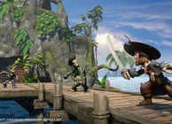 Disney Infinity PotC Captain Barbosa sword fighting