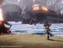 Disney Infinity PotC Captain Barbosa running from ship