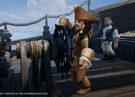Disney Infinity PotC Jack Sparrow steering ship