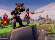 Disney Infinity PotC Jack Sparrow toy box mode