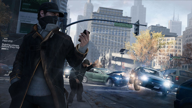 Watch Dogs Screenshot - Watch Dogs police block traffic lights