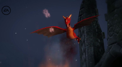The Sims 3 dragons