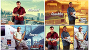 GTA 5 character art wallpaper