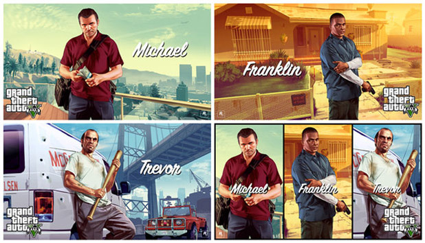 Grand Theft Auto V Screenshot - GTA 5 character art wallpaper