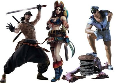 Resident Evil Revelations alternate costumes