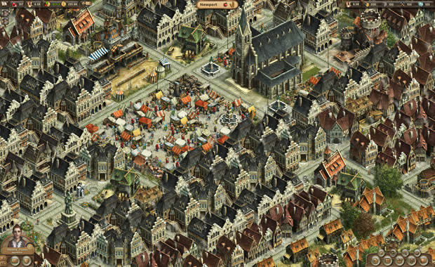 anno online city center screenshot