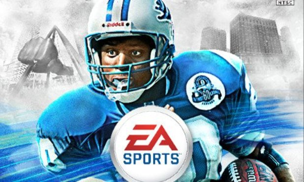 Madden NFL 25 Screenshot - Madden 25 Barry Sanders cover