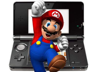 Nintendo 3DS XL Screenshot - Nintendo 3DS mario