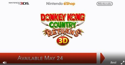 Donkey Kong Country Returns 3D Screenshot - 1146492