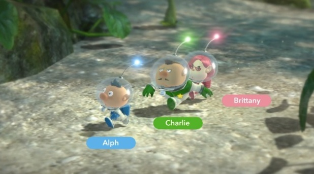 Pikmin 3 Screenshot - Pikmin 3 new characters