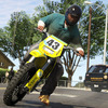 Grand Theft Auto V Screenshot - GTA 5 dirt bike cop chase