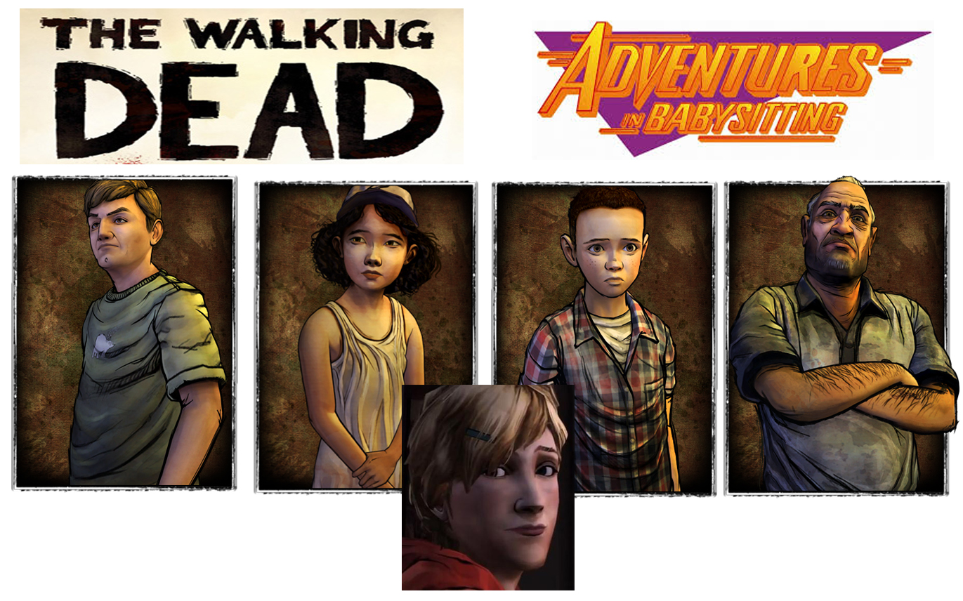The Walking Dead Adventures in Babysitting