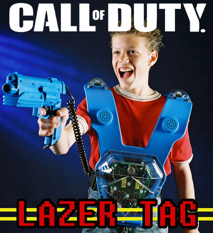 Call of Duty Lazer Tag