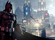 Batman: Arkham Origins Looking over Gotham City