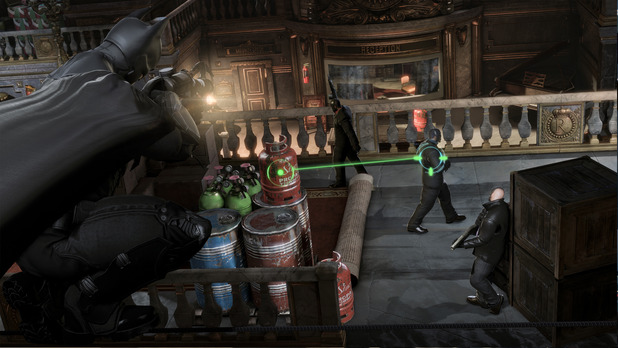 Batman: Arkham Origins Screenshot - Batman: Arkham Origins Gadgets
