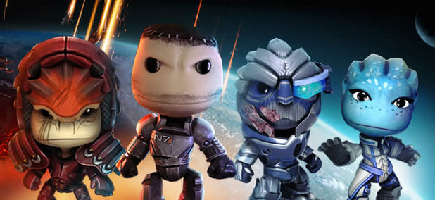 LittleBigPlanet 2 Screenshot - mass effect costumes littlebigplanet