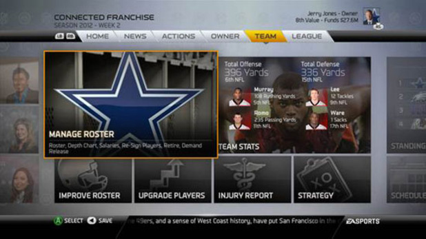 Madden NFL 25 Screenshot - Madden NFL 25 Connected Franchise owner mode