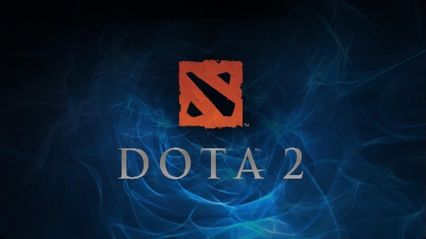 Dota 2 Screenshot - DOTA 2 logo