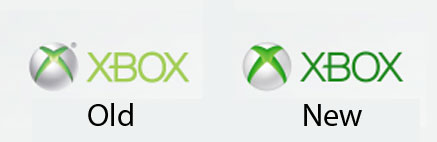 Xbox logo old vs new