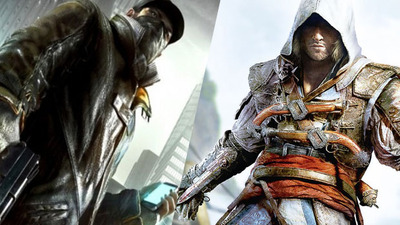 Assassin's Creed 4 and Watch Dogs