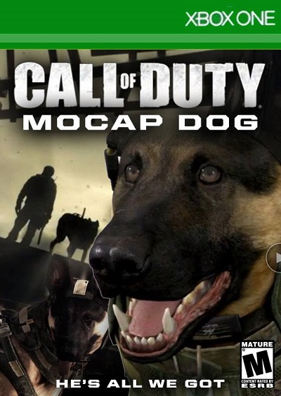 call of duty: ghosts,mocap dog, xbox one