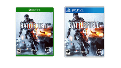 Xbox One PS4 box art