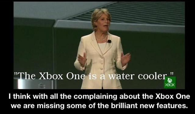 Water Cooler is the Xbox One