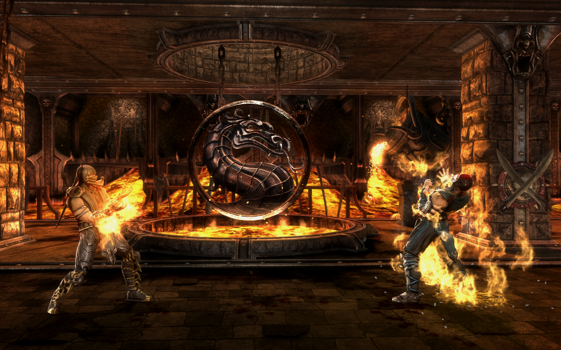Mortal Kombat Komplete Edition Fire