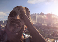 Dying Light killing a zombie