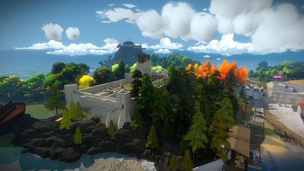 The Witness Screenshot - PS4 The Witness