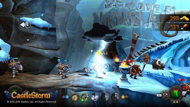 CastleStorm Ice Mountain Level
