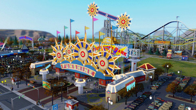 SimCity Amusement Park gate