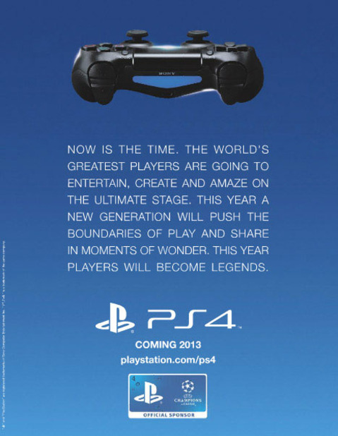 PlayStation 4 (console) Screenshot - PS4 ad