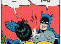 Batman slapping Robin meme, Xbox One