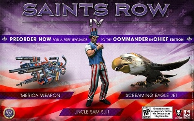 Saint's Row 4 commander in chief edition