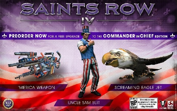 Saint's Row IV Screenshot - Saint's Row 4 commander in chief edition