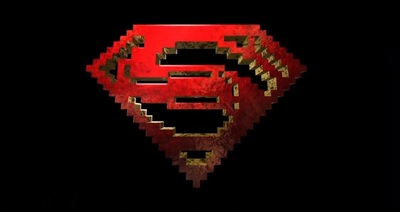 Minecraft Man of Steel trailer