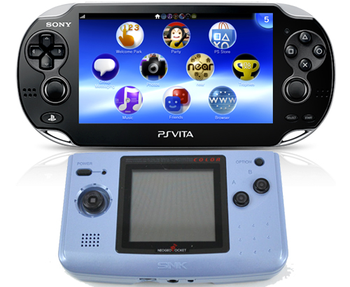 Vita and Neo Geo Pocket
