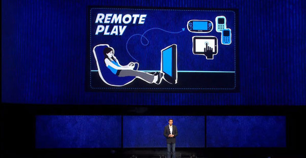 PlayStation 4 (console) Screenshot - Vita Remote Play on the PS4