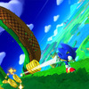 Sonic: Lost World Screenshot - Sonic running and collecting rings