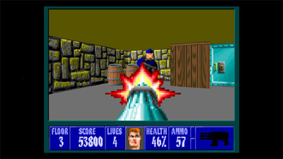 Wolfenstein 3D Screenshot - Wolfenstein 3D on XBLA and PSN