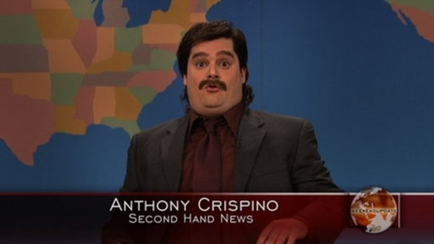 Anthony Crispino second hand news guy weekend update snl