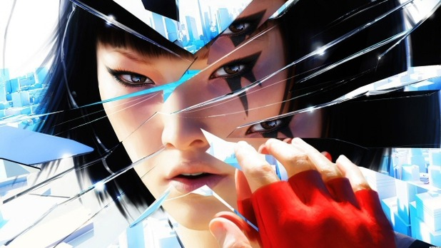 Mirror's Edge Screenshot - Faith in broken mirror
