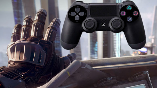 PlayStation 4 (console) Screenshot - PS4 controller